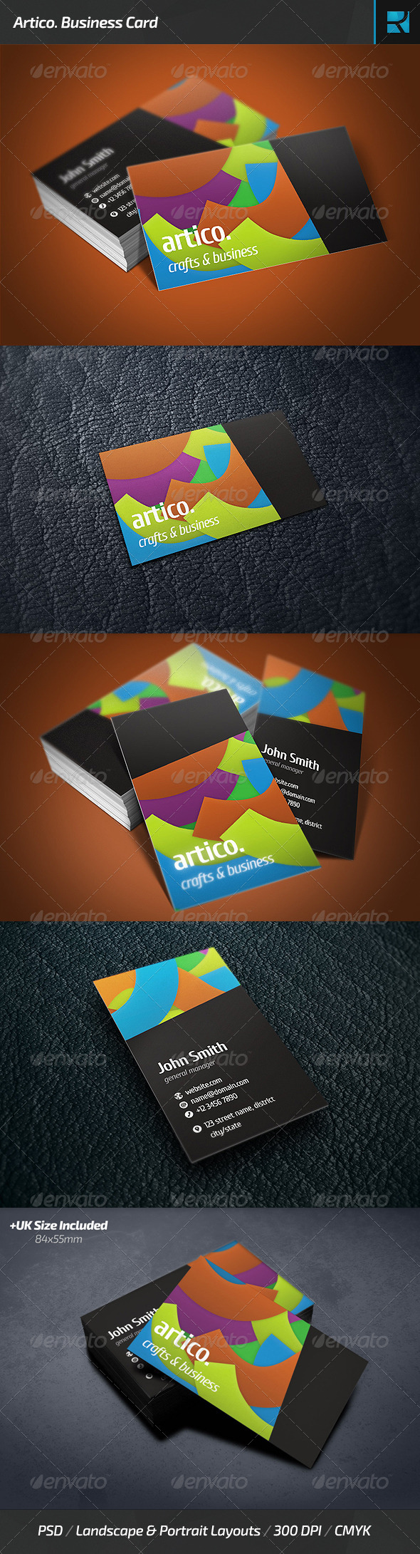 Artico. Business Card - Creative Business Cards