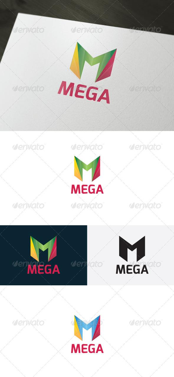 Mega Logo — Letter M - Letters Logo Templates