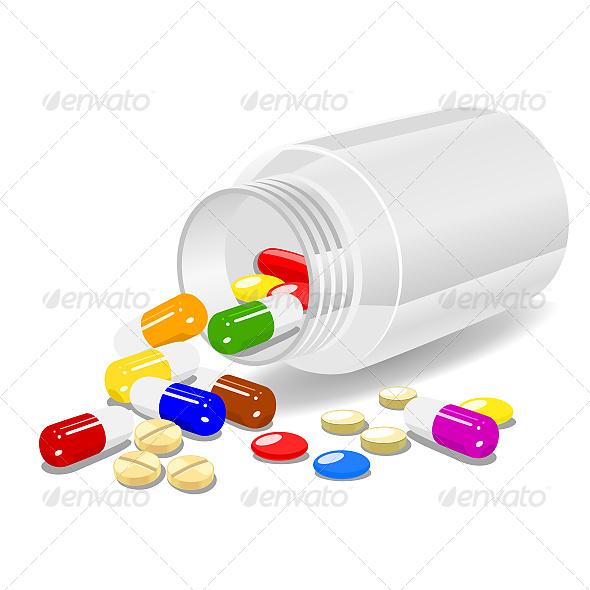 Medicine - Objects Vectors