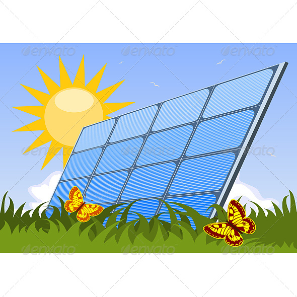 Solar Panel - Technology Conceptual