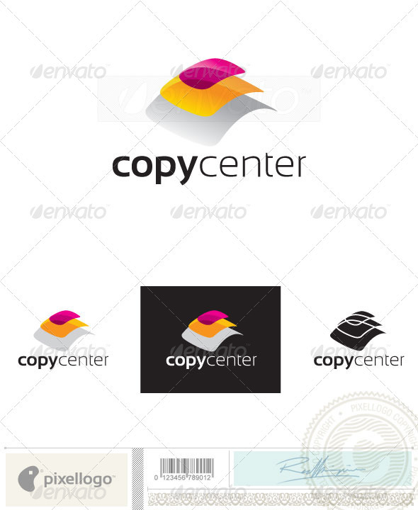 Printing & Publishing Logo-2391 - Vector Abstract