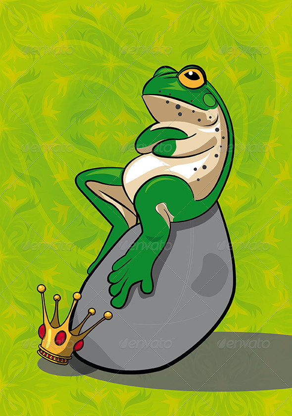 Frog Mascot - Animals Characters