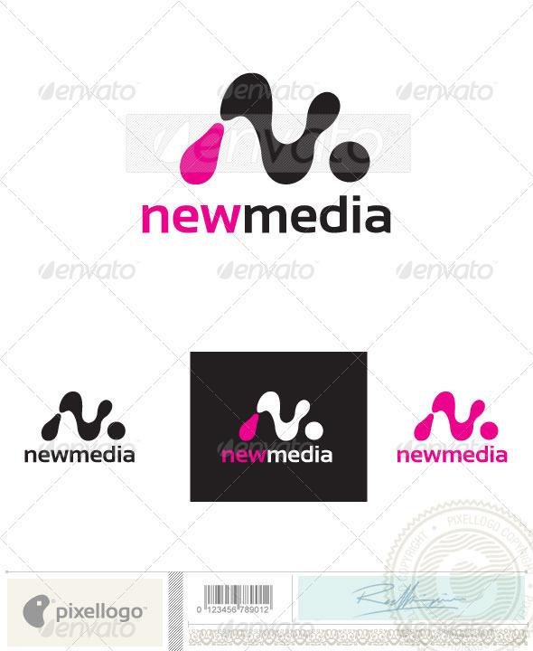 "Abstract ""N"" Logo-2395 - Vector Abstract"