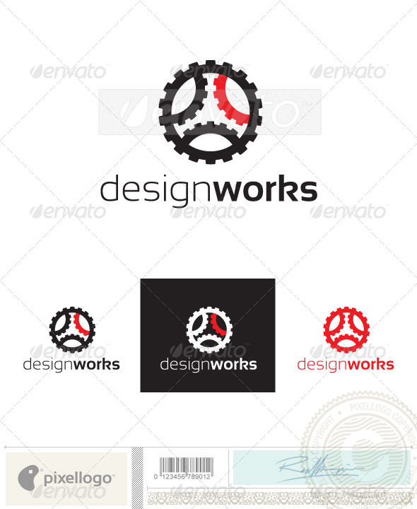 Mechanical & Industy Logo-2396 - Objects Logo Templates