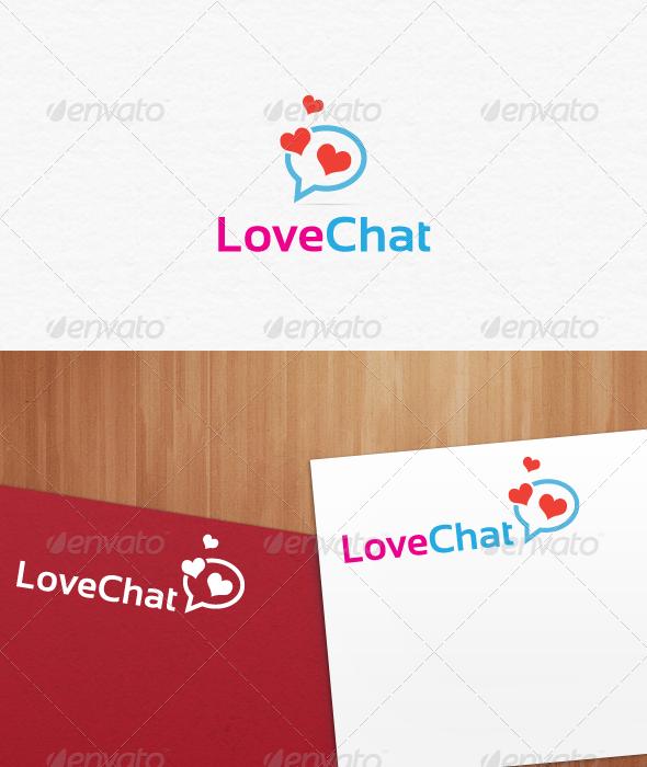 Love Chat Logo Templates - Symbols Logo Templates