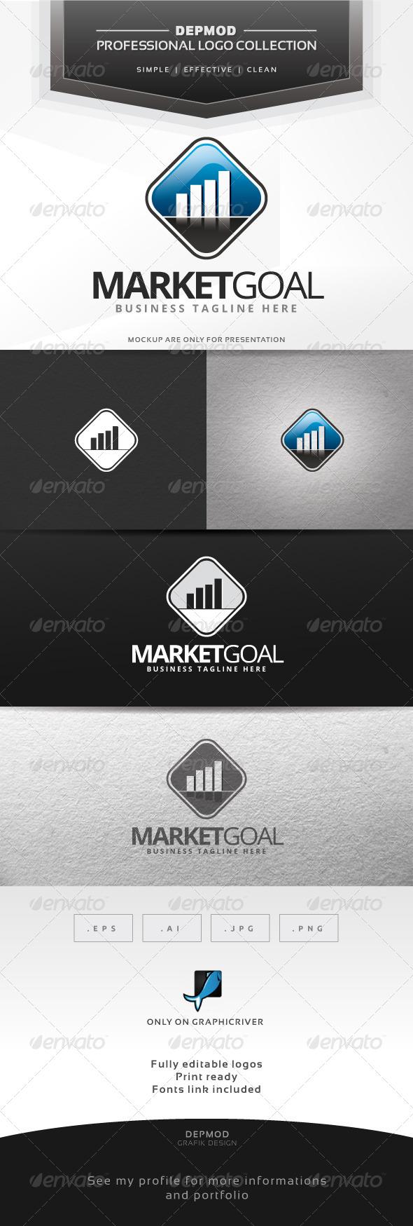 Market Goal Logo - Symbols Logo Templates