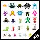 Pixel Creatures - GraphicRiver Item for Sale