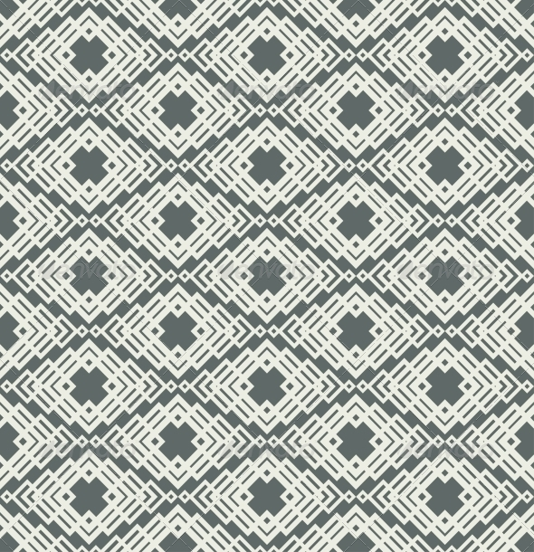 Seamless Color Retro Pattern Background - Patterns Decorative