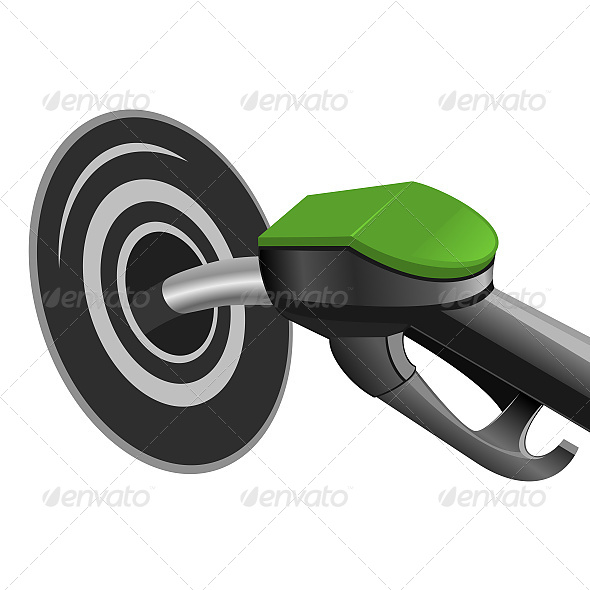 Pumping Fuel into the Tank - Business Conceptual