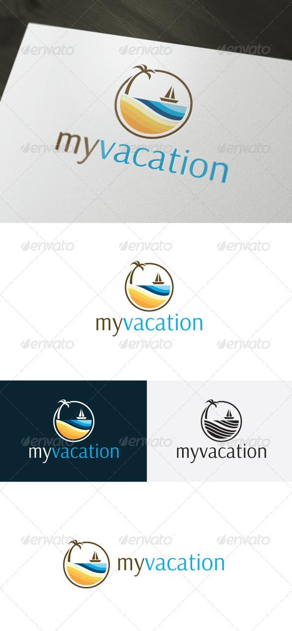 My Vacation Logo — Holiday - Nature Logo Templates