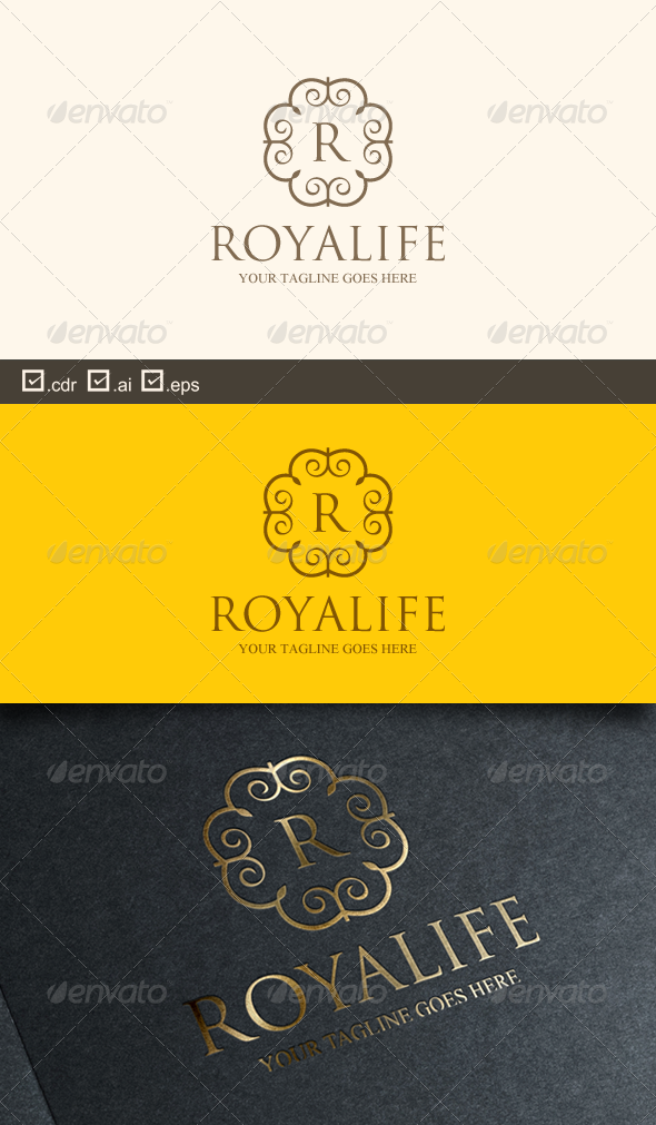 Royalife - Crests Logo Templates