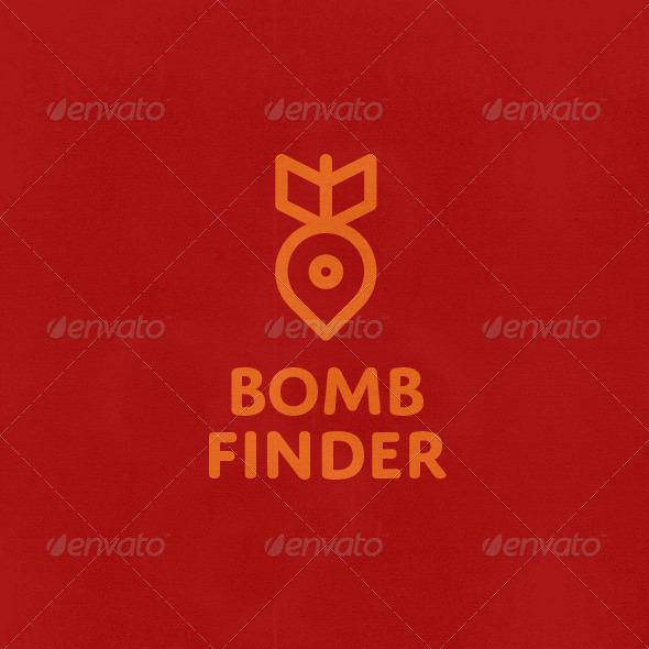 Bomb Finder Logo - Symbols Logo Templates