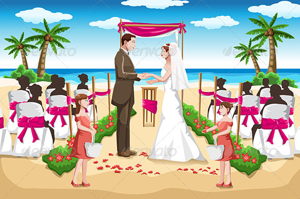 Beach Wedding - Weddings Seasons/Holidays