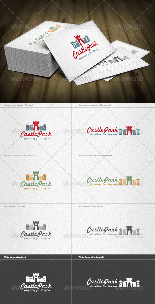 Castlepark Logo - Buildings Logo Templates