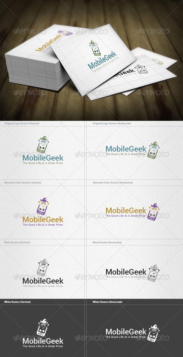 Mobile Geek Logo - Objects Logo Templates