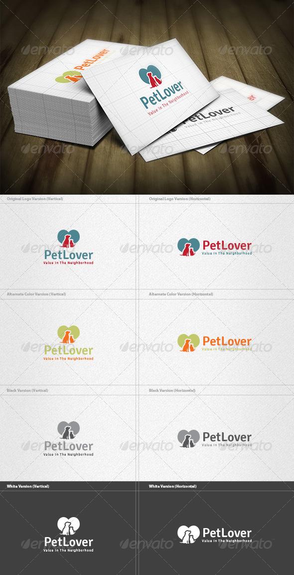 Pet Lover Logo - Animals Logo Templates