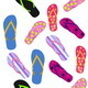 Flip Flops. Summer Background - GraphicRiver Item for Sale
