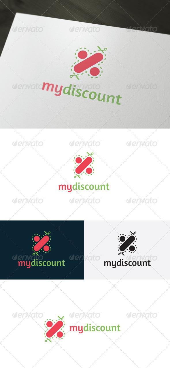 My Discount Logo - Symbols Logo Templates