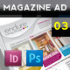 Magazine Advert Template 003 - GraphicRiver Item for Sale