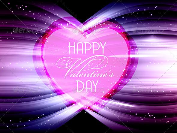 Heart Background - Valentines Seasons/Holidays