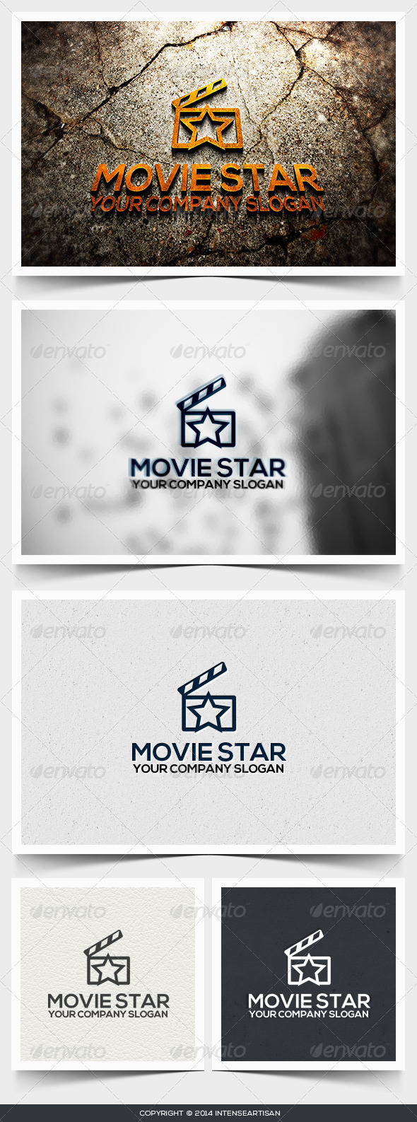 Movie Star Logo Template - Objects Logo Templates