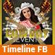 Cowboy Event v1.1 - Timeline Facebook - GraphicRiver Item for Sale