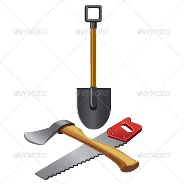 Work Tools - Vectors