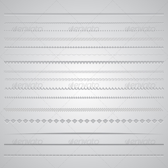 Page Dividers - Miscellaneous Conceptual
