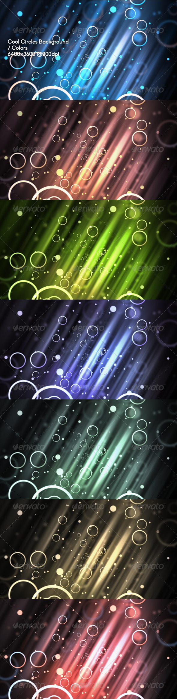 Cool Circles Background - Abstract Backgrounds