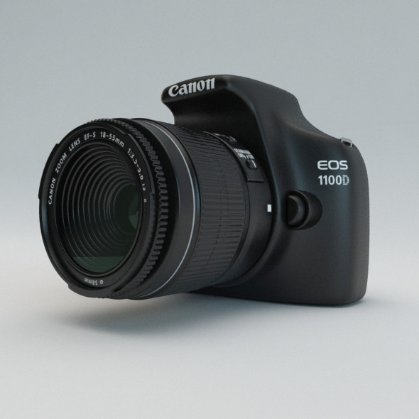 Canon EOS 1100D - 3DOcean Item for Sale