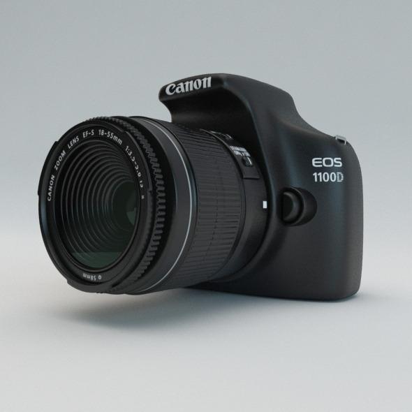 Canon EOS 1100D by kroopskiy | 3DOcean