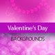 Blurred Valentine's Day Hearts Backgrounds - GraphicRiver Item for Sale