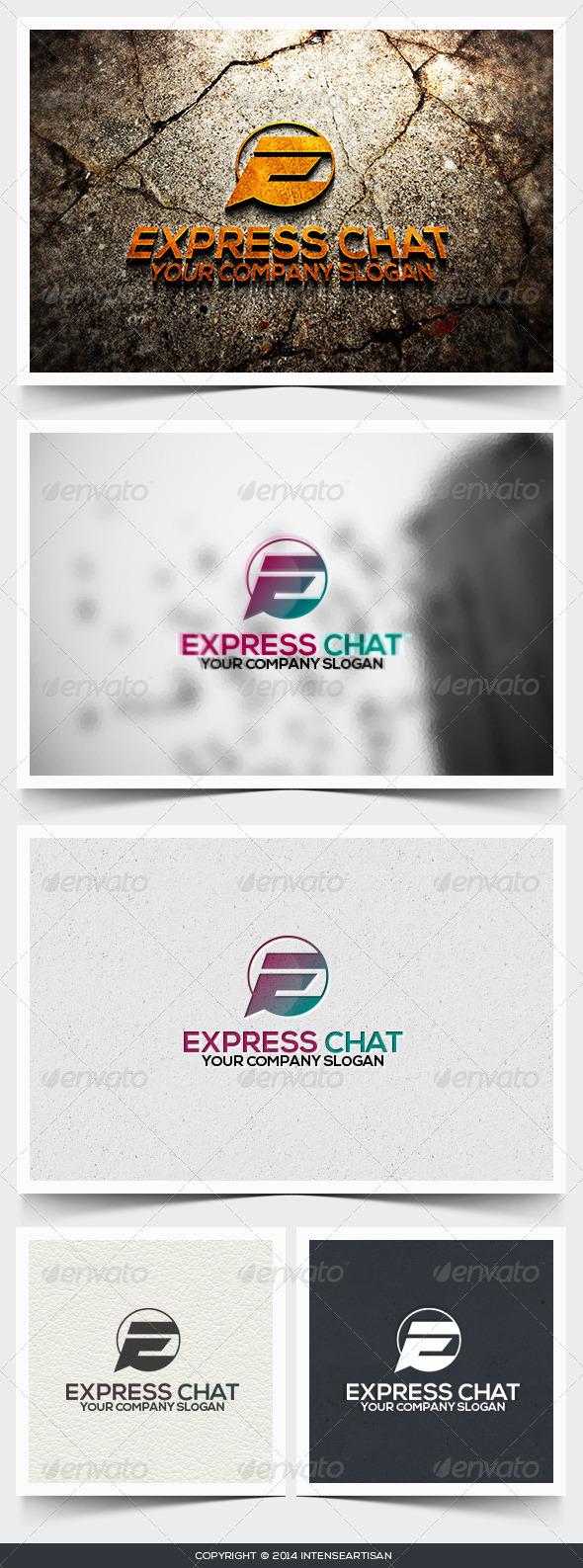 Express Chat Logo Template - Letters Logo Templates
