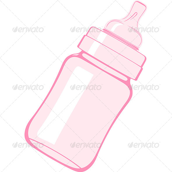 Baby Bottle - Man-made Objects Objects