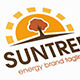 Sun Tree Logo - GraphicRiver Item for Sale