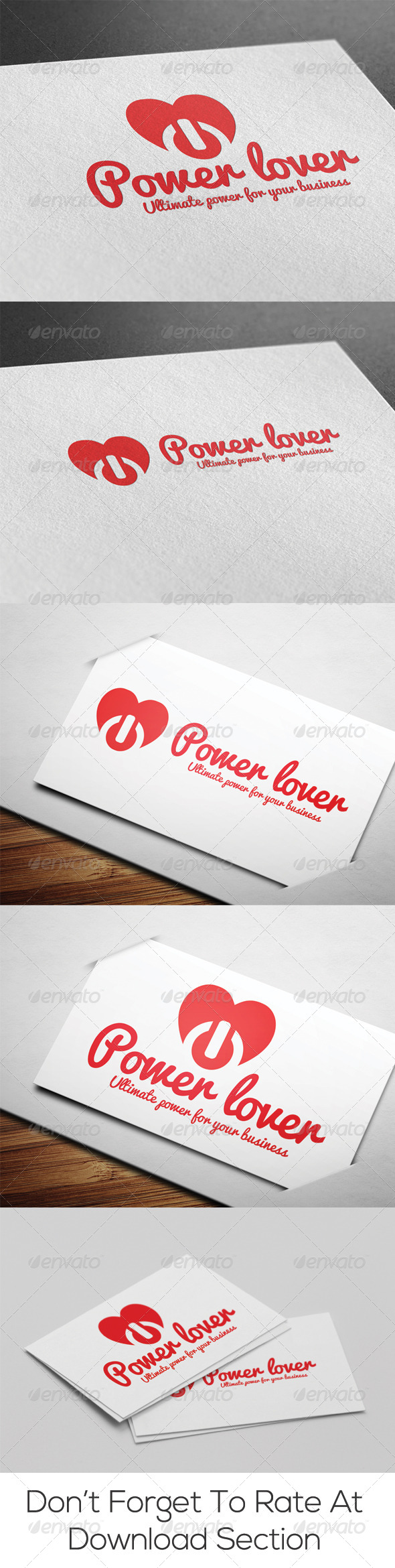 Power Lover Logo - Objects Logo Templates