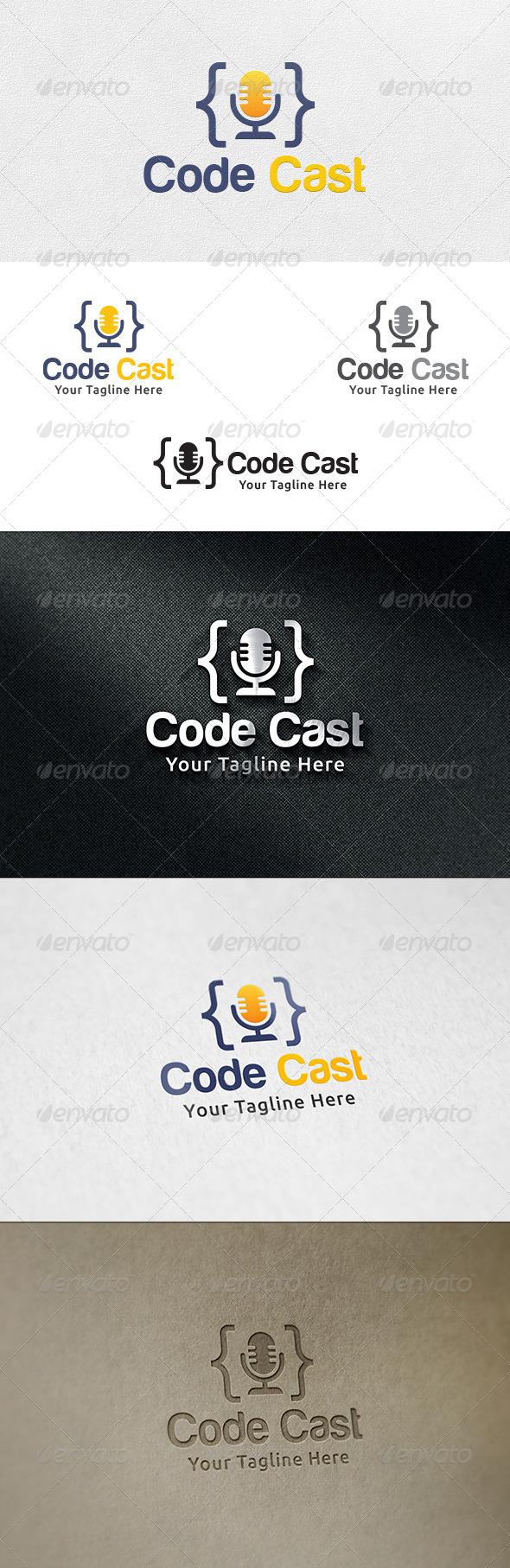 Code Cast - Logo Template - Symbols Logo Templates