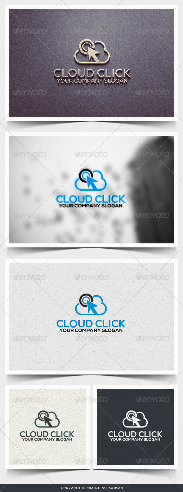 Cloud Click Logo Template - Objects Logo Templates