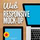 Responsive Web Display Kit Mock-Up - GraphicRiver Item for Sale