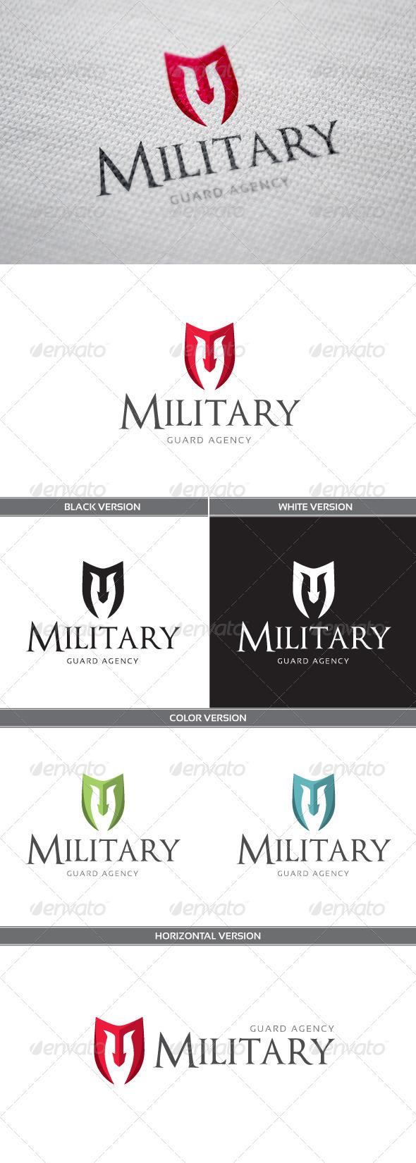 Military Logo - Objects Logo Templates