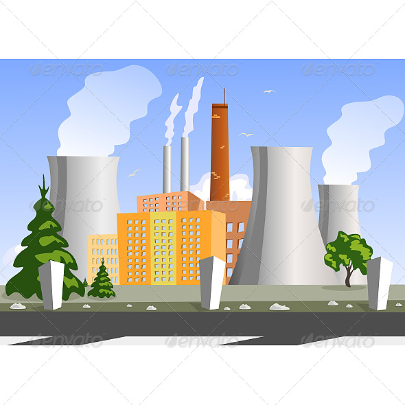 Electrical Generating Plant - Industries Business