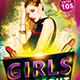 Girls Night Out Party Flyer Template - GraphicRiver Item for Sale