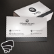 Light Corporate Business Card 01 - GraphicRiver Item for Sale