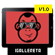 IGallereta - Mobile App Sales Page - ThemeForest Item for Sale