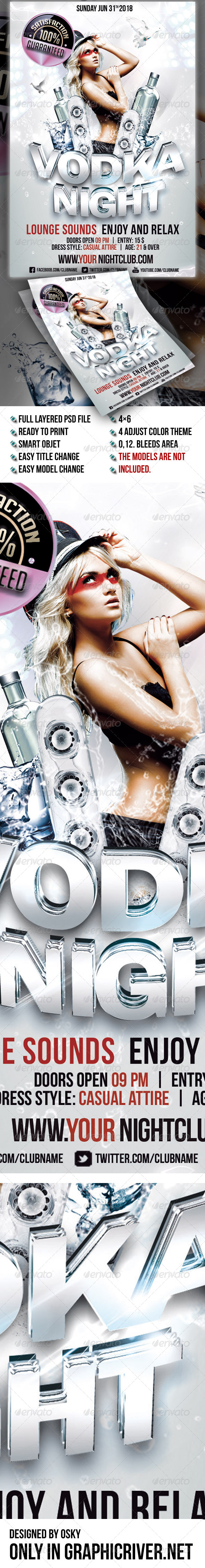 Vodka Night III - Clubs & Parties Events