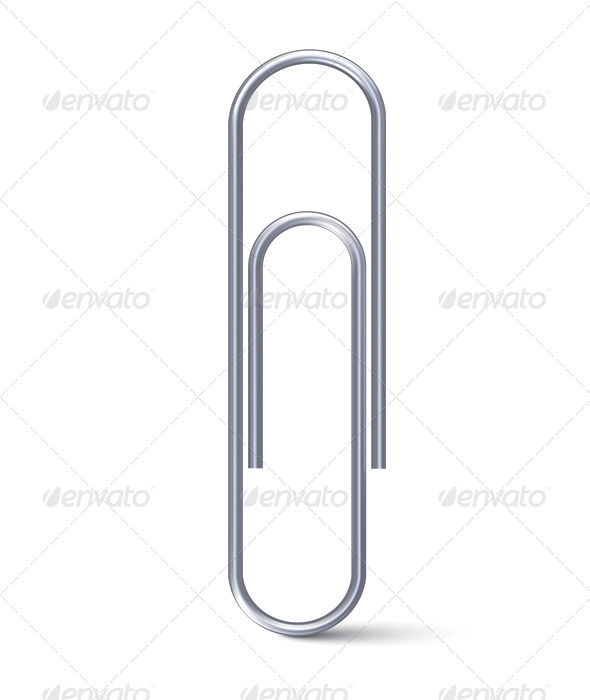 Paper Clip - Objects Illustrations