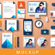 Flat Stationery Mockup - GraphicRiver Item for Sale
