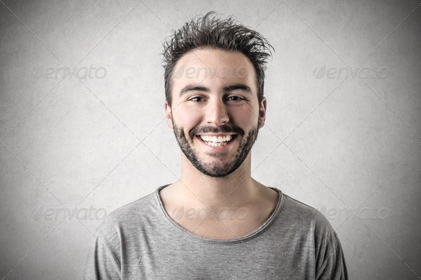handsome guy - Stock Photo - Images