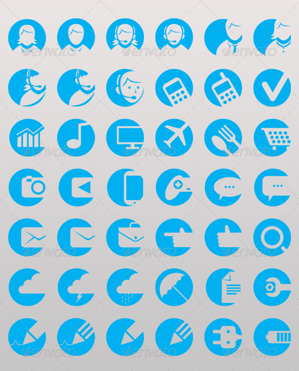 Hollow Icons - Icons