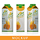 Carton Package for Juice Mockup - GraphicRiver Item for Sale